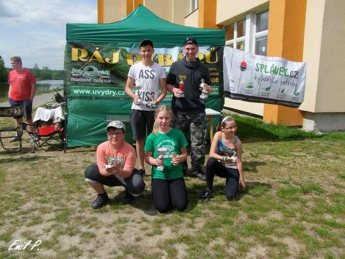 Dětské rybářské závody BAMBI-výsledky